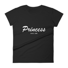 Princess Women's Round Neck T-Shirt, Collection Nicknames-Black-S-Tamed Winds-tshirt-shop-and-sailing-blog-www-tamedwinds-com