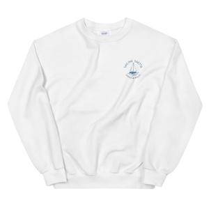 Sailing Saetta Unisex Sweatshirt-White-S-Tamed Winds-tshirt-shop-and-sailing-blog-www-tamedwinds-com