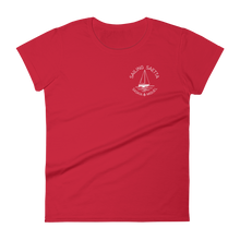 Sailing Saetta Women's Round Neck T-Shirt-Red-S-Tamed Winds-tshirt-shop-and-sailing-blog-www-tamedwinds-com