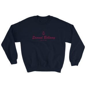 Samuel Bellamy Unisex Crewneck Sweatshirt, Collection Pirate Tales-S-Tamed Winds-tshirt-shop-and-sailing-blog-www-tamedwinds-com