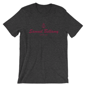 Samuel Bellamy Unisex T-Shirt, Collection Pirate Tales-XS-Tamed Winds-tshirt-shop-and-sailing-blog-www-tamedwinds-com
