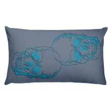 Skull Decorative Pillow, Collection Jolly Roger-Tamed Winds-tshirt-shop-and-sailing-blog-www-tamedwinds-com
