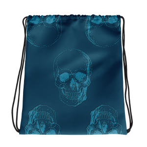 Skull Drawstring Bag, Collection Jolly Roger-Tamed Winds-tshirt-shop-and-sailing-blog-www-tamedwinds-com