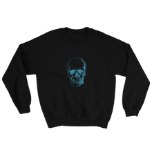 Skull Unisex Crewneck Sweatshirt, Collection Jolly Roger-Black-S-Tamed Winds-tshirt-shop-and-sailing-blog-www-tamedwinds-com