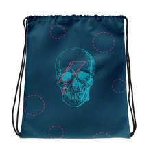 Starman Skull Drawstring Bag, Collection Jolly Roger-Tamed Winds-tshirt-shop-and-sailing-blog-www-tamedwinds-com