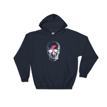 Starman Skull Unisex Hooded Sweatshirt, Collection Jolly Roger-Navy-S-Tamed Winds-tshirt-shop-and-sailing-blog-www-tamedwinds-com
