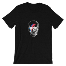Starman Skull Unisex T-Shirt, Collection Jolly Roger-Black Heather-S-Tamed Winds-tshirt-shop-and-sailing-blog-www-tamedwinds-com