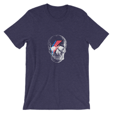 Starman Skull Unisex T-Shirt, Collection Jolly Roger-Heather Midnight Navy-S-Tamed Winds-tshirt-shop-and-sailing-blog-www-tamedwinds-com