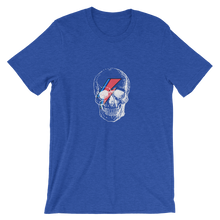 Starman Skull Unisex T-Shirt, Collection Jolly Roger-Heather True Royal-S-Tamed Winds-tshirt-shop-and-sailing-blog-www-tamedwinds-com