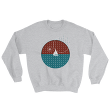 Starry Night Unisex Crewneck Sweatshirt, Collection Fjaka-Sport Grey-S-Tamed Winds-tshirt-shop-and-sailing-blog-www-tamedwinds-com
