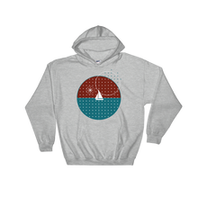 Starry Night Unisex Hooded Sweatshirt, Collection Fjaka-Sport Grey-S-Tamed Winds-tshirt-shop-and-sailing-blog-www-tamedwinds-com
