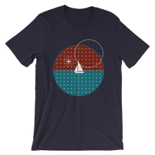 Starry Night Unisex T-Shirt, Collection Fjaka-Navy-S-Tamed Winds-tshirt-shop-and-sailing-blog-www-tamedwinds-com