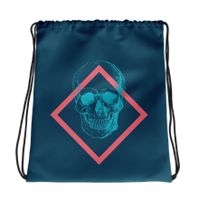 Toxic Skull Drawstring Bag, Collection Jolly Roger-Tamed Winds-tshirt-shop-and-sailing-blog-www-tamedwinds-com
