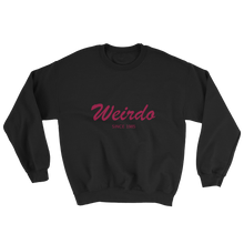 Weirdo Unisex Crewneck Sweatshirt, Collection Nicknames-Black-S-Tamed Winds-tshirt-shop-and-sailing-blog-www-tamedwinds-com