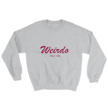 Weirdo Unisex Crewneck Sweatshirt, Collection Nicknames-Sport Grey-S-Tamed Winds-tshirt-shop-and-sailing-blog-www-tamedwinds-com