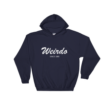 Weirdo Unisex Hooded Sweatshirt, Collection Nicknames-Navy-S-Tamed Winds-tshirt-shop-and-sailing-blog-www-tamedwinds-com