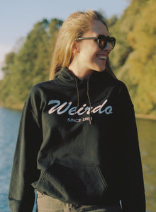 Weirdo Unisex Hooded Sweatshirt, Collection Nicknames-Tamed Winds-tshirt-shop-and-sailing-blog-www-tamedwinds-com
