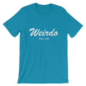Weirdo Unisex T-Shirt, Collection Nicknames-Aqua-S-Tamed Winds-tshirt-shop-and-sailing-blog-www-tamedwinds-com