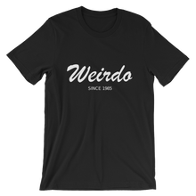 Weirdo Unisex T-Shirt, Collection Nicknames-Black-S-Tamed Winds-tshirt-shop-and-sailing-blog-www-tamedwinds-com