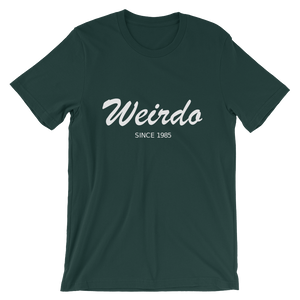 Weirdo Unisex T-Shirt, Collection Nicknames-Forest-S-Tamed Winds-tshirt-shop-and-sailing-blog-www-tamedwinds-com