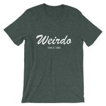Weirdo Unisex T-Shirt, Collection Nicknames-Heather Forest-S-Tamed Winds-tshirt-shop-and-sailing-blog-www-tamedwinds-com