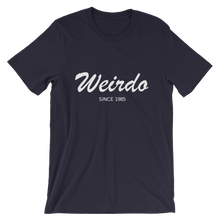 Weirdo Unisex T-Shirt, Collection Nicknames-Navy-S-Tamed Winds-tshirt-shop-and-sailing-blog-www-tamedwinds-com
