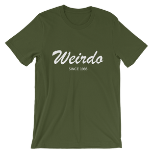 Weirdo Unisex T-Shirt, Collection Nicknames-Olive-S-Tamed Winds-tshirt-shop-and-sailing-blog-www-tamedwinds-com