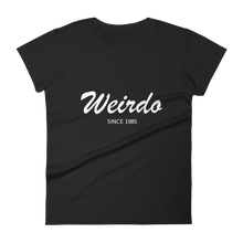 Weirdo Women's Round Neck T-Shirt, Collection Nicknames-Black-S-Tamed Winds-tshirt-shop-and-sailing-blog-www-tamedwinds-com