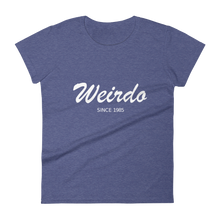 Weirdo Women's Round Neck T-Shirt, Collection Nicknames-Heather Blue-S-Tamed Winds-tshirt-shop-and-sailing-blog-www-tamedwinds-com