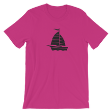 Yacht Unisex T-Shirt, Collection Ships & Boats-Berry-S-Tamed Winds-tshirt-shop-and-sailing-blog-www-tamedwinds-com
