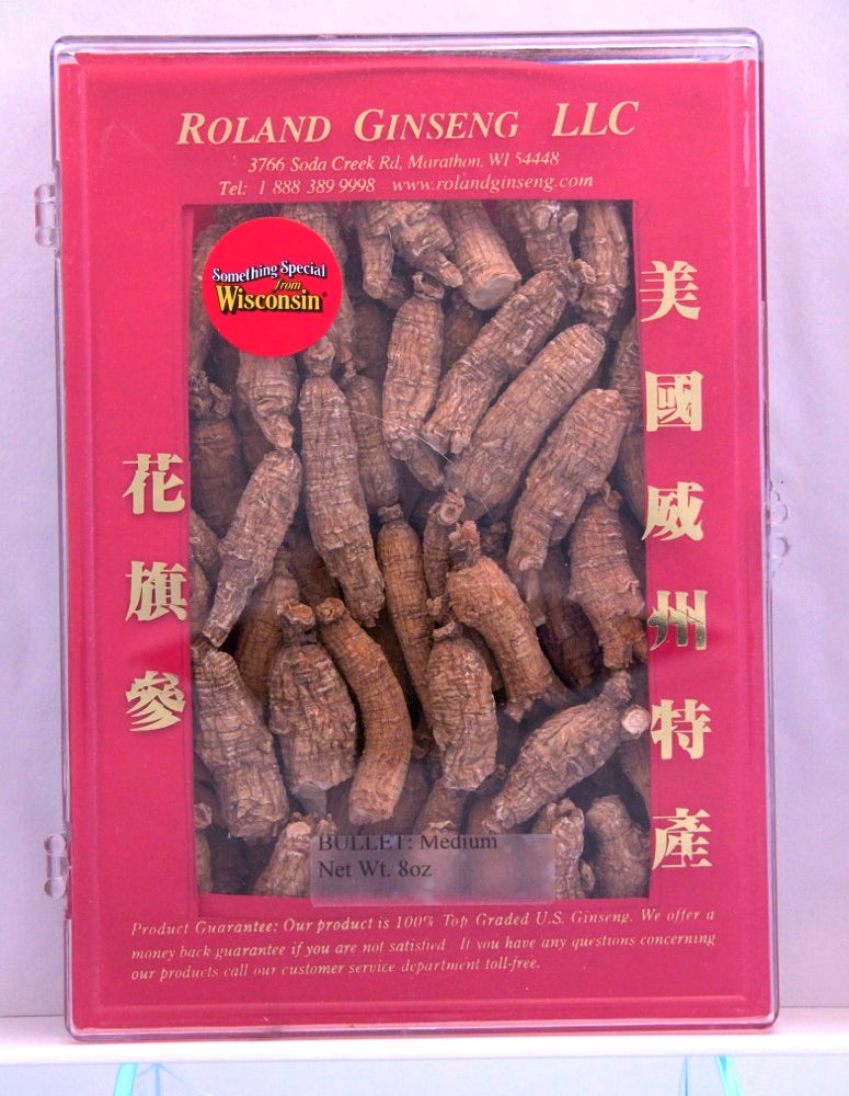 Roland American Ginseng Bullet Medium Package 8oz
