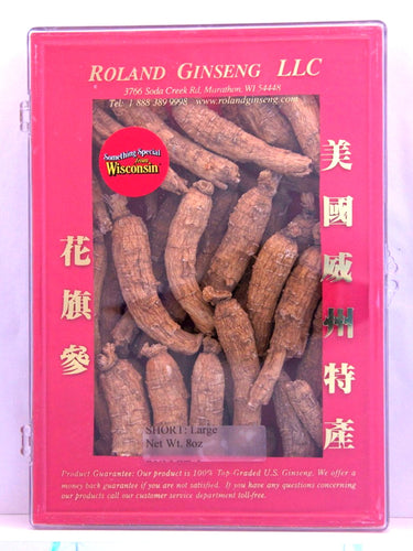 Roland American Ginseng Short Large Package 8oz