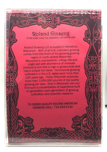 Roland American Ginseng Long Jumbo Package 8oz