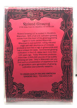 Load image into Gallery viewer, Roland American Ginseng Bullet Medium Package 8oz