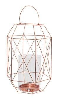 rose gold terrarium display. This terrarium display uses a beautiful geometric design to capture the popular chic look of today.