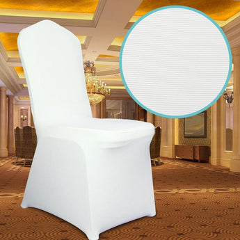 Chair Cover Spandex - White