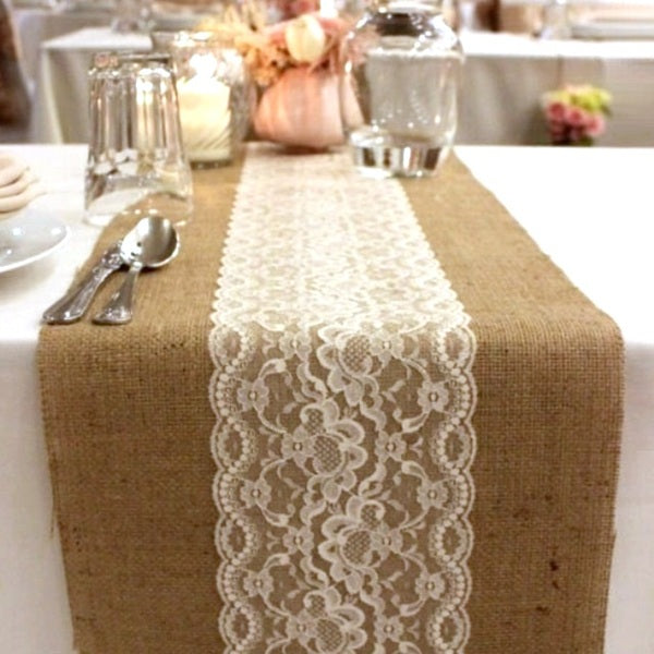 Burlap Table Runner 2.8 meters x 50cm