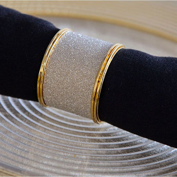 Gold Glitter Napkin Ring