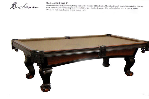 Imperial Buchanen 8ft. Pool Table