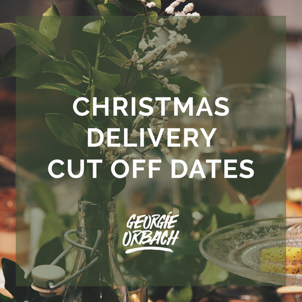 Christmas Delivery Cut Off Dates