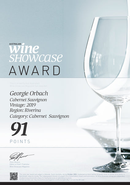 2020 Australian Wine Showcase Awards