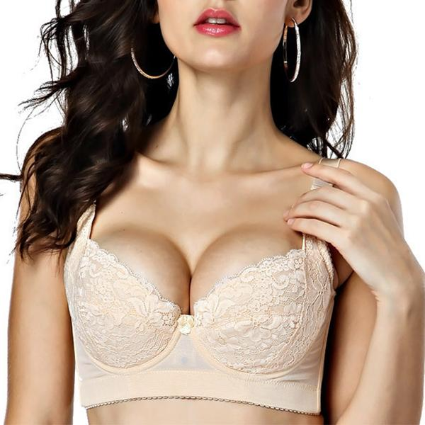 a63caa5cd3d Sexy Plus Size Underwire Gather Adjustable Bras (US B C D DD