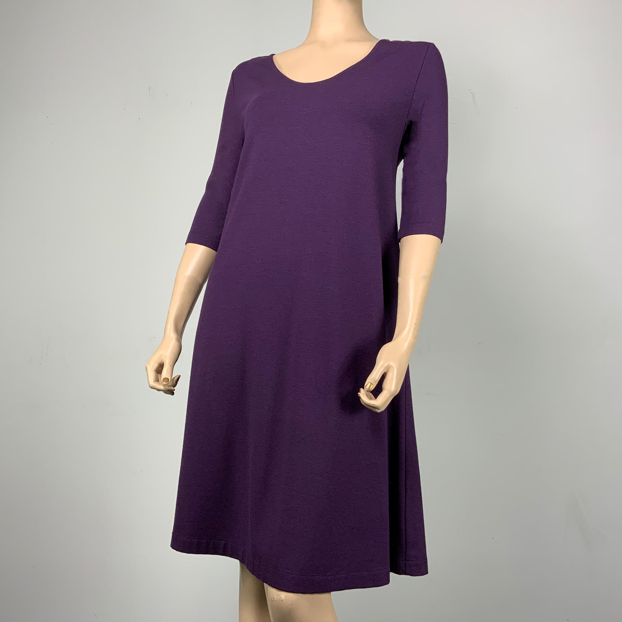 Purple Alice Relaxed-Fit Dress
