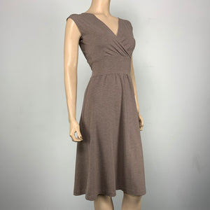 Solid Sand Cotton Bamboo Cari Dress