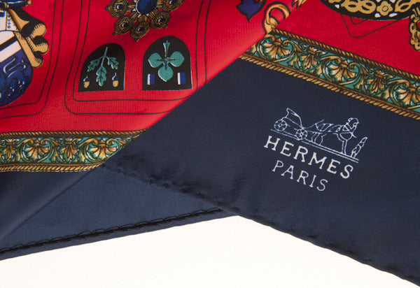 Hermes Cards Scarf
