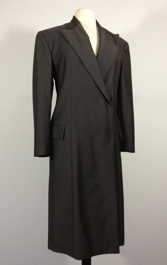 Gucci Silk/Wool Coat