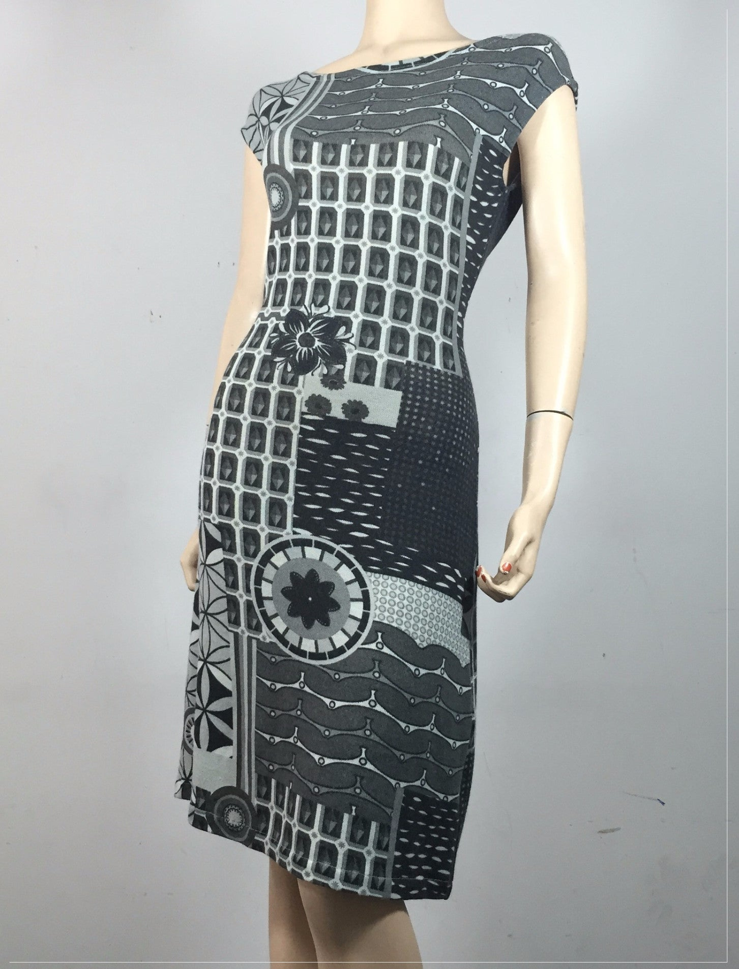 Geo Rising Darlene Dress