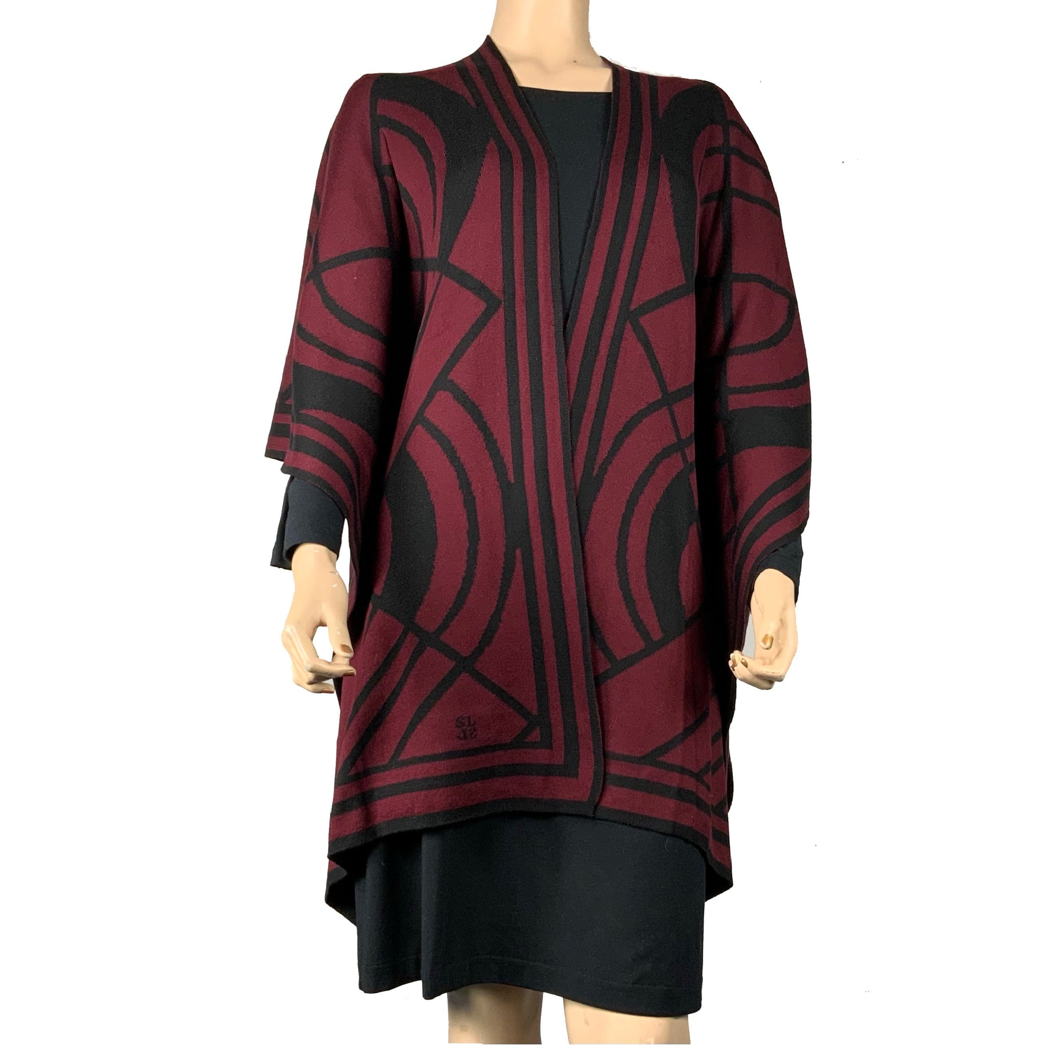 Deco Cape Black & Cabernet
