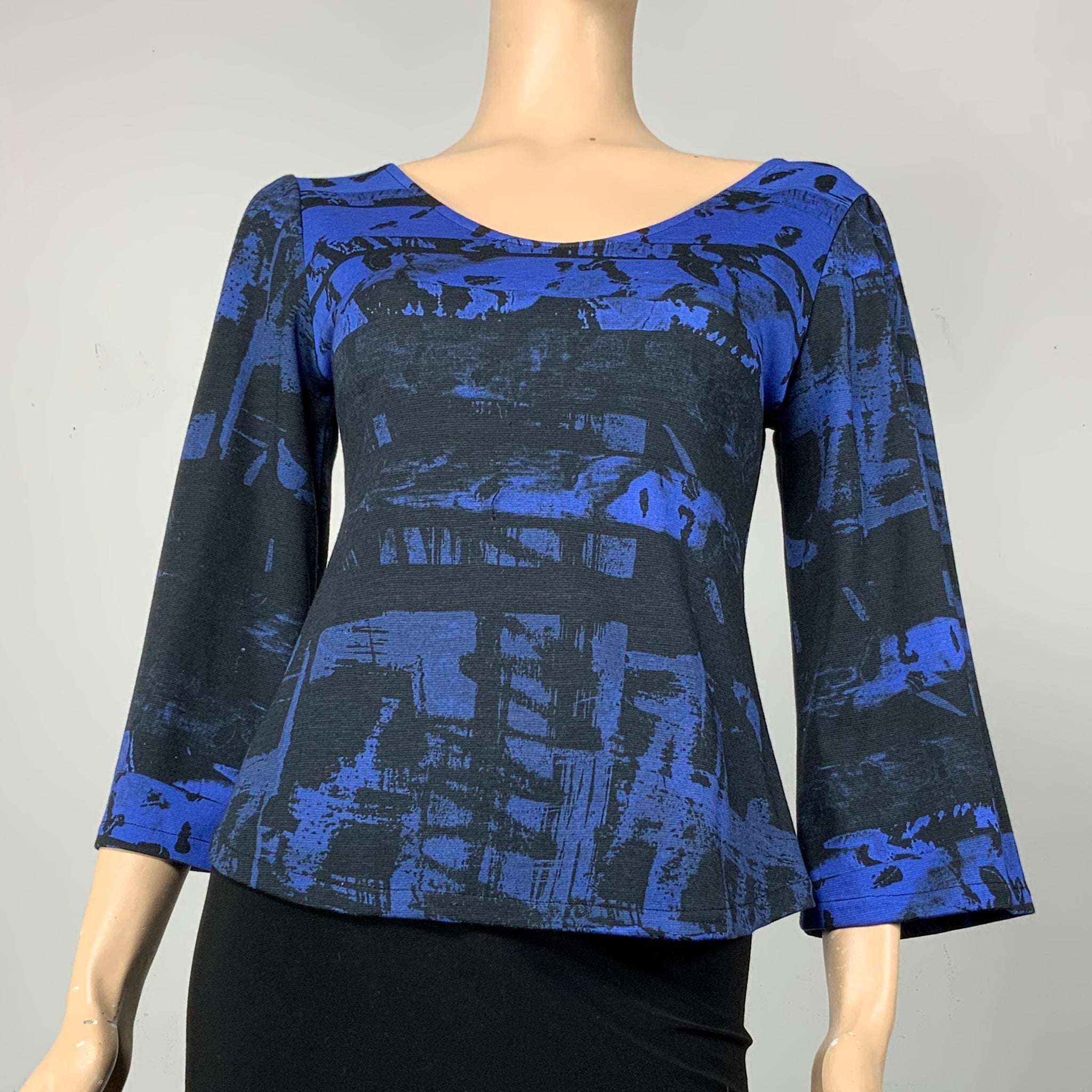 Blue Danube Ava Top Flared Sleeve
