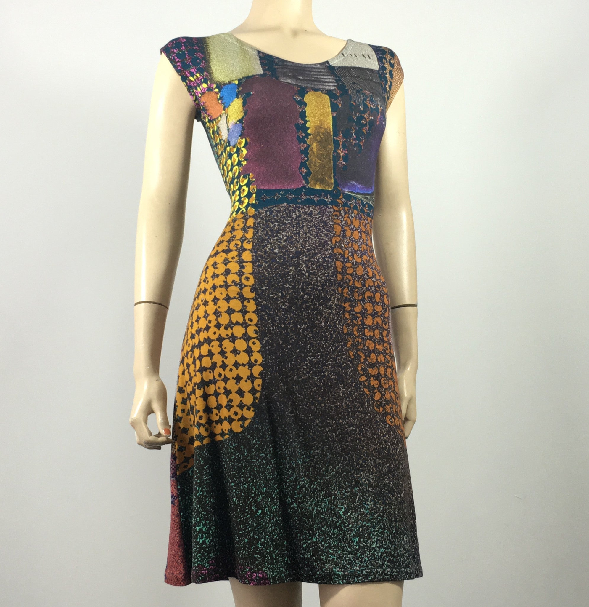 Happy Abstraction Katie Dress